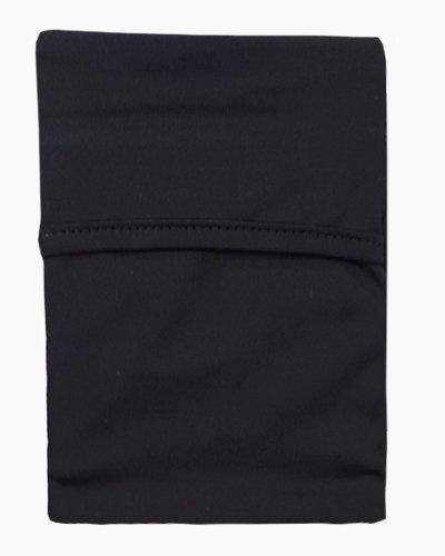 black black wrist wallet, wrist wallet, phone holder, arm pocket, travel pocket, pick pocket proof wallet