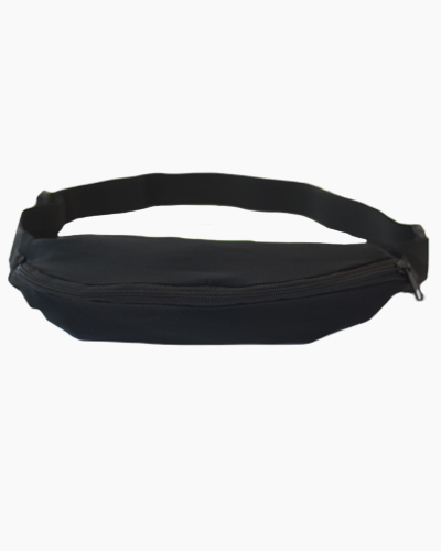 1 Pocket Running Belt Black