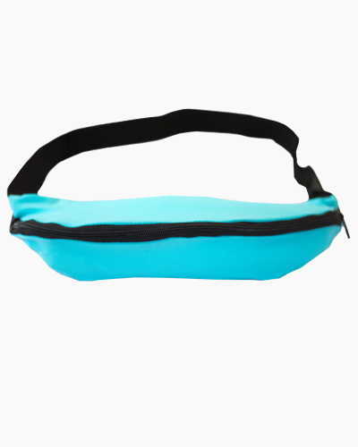 1 Pocket Running Belt Turquoise