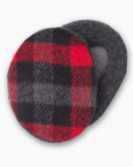 Black & Red Plaid Earbags