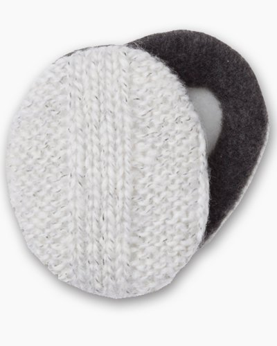 Cream Earbags Ear Warmers