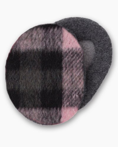 Pink & Black Earbags Ear Muffs