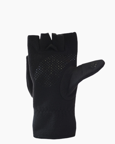Multi Mitt Black Fingerless Gloves