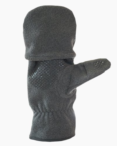 Grey Multi Mitt Fingerless Gloves Inside 2