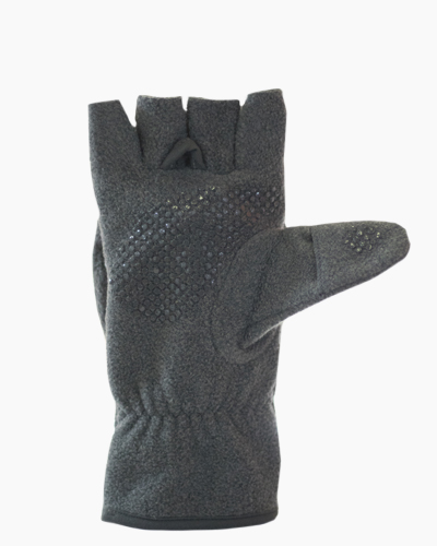 Grey Multi Mitt Fingerless Gloves Inside