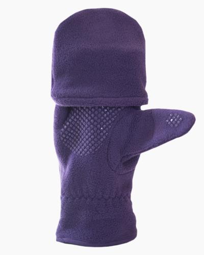Purple Multi Mitt Fingerless Gloves Inside 2
