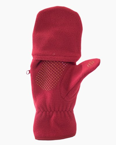 Red Multi Mitt Fingerless Gloves Inside 2