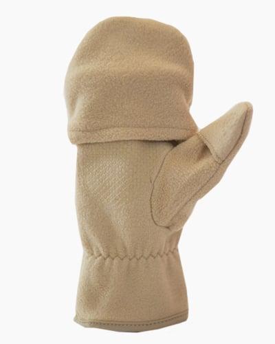 Tan Multi Mitt Fingerless Gloves Inside 2