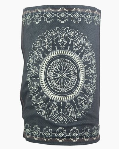 Slink Bandana Headband Black Batik Front