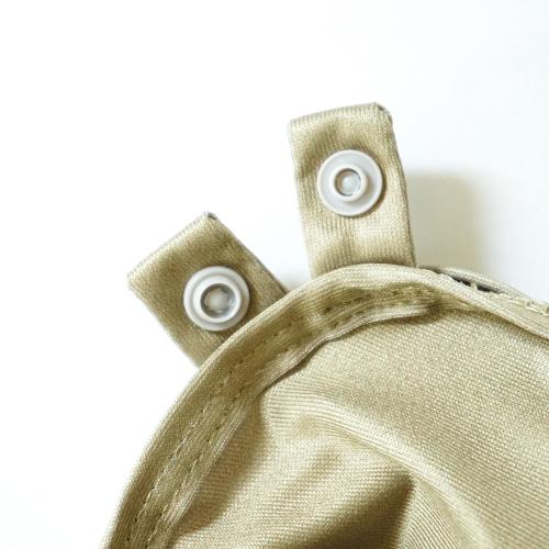 khaki buttons
